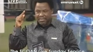 SCOAN 30 March 2014: God Is Reliable By Prophet TB Joshua, Emmanuel TV