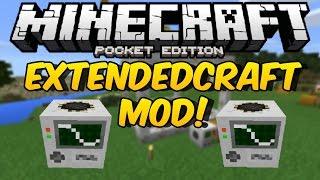 EXTENDEDCRAFT MOD PARA MINECRAFT PE 0.14.0 | Mods Para Minecraft PE 0.14.0