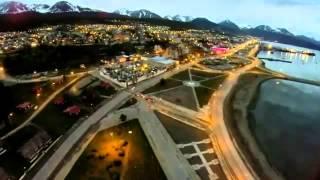 Ushuaia desde el Aire. Espectaculares imágenes desde un Drone