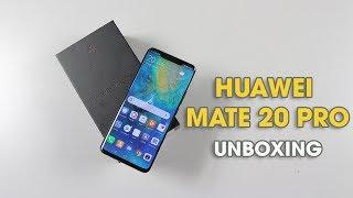 Mở hộp và trên tay nhanh Huawei Mate 20 Pro