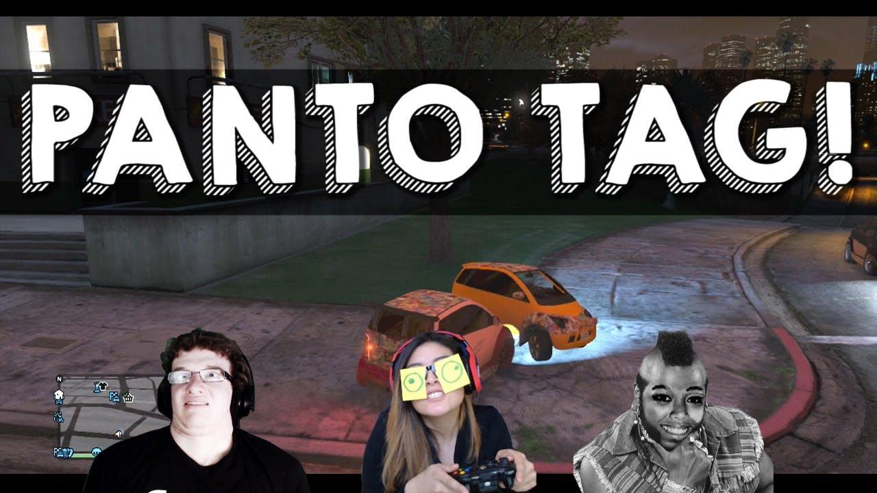 GTA 5 Online Mini Game - Panto Bumper Tag w/ Mini Ladd ... Lui Calibre Gta 5