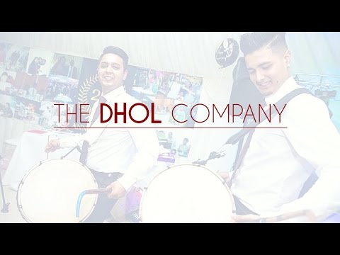 The DHOL Company alongside Musical Movements: Wedding Reception