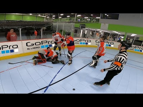 THE END *HOCKEY FIGHT FOOTAGE*