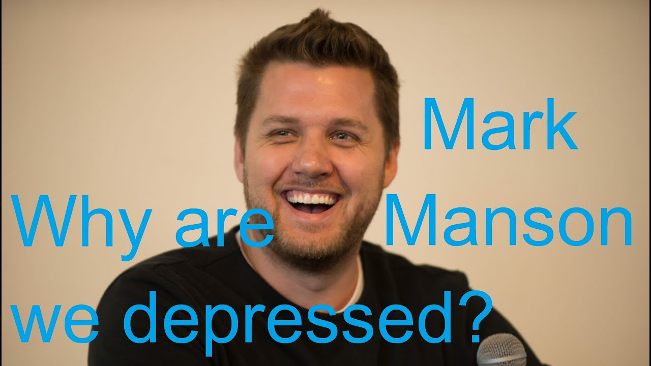 Why are we depressed? | Mark Manson | Inside Out Convention ...