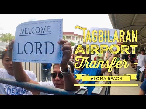 Tagbilaran Airport Transfer to Alona Beach Panglao Island Bohol: Claro Private Car PHP 500