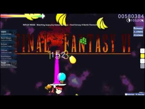 Osu! Catch The Beat - Final Fantasy IV Battle Theme