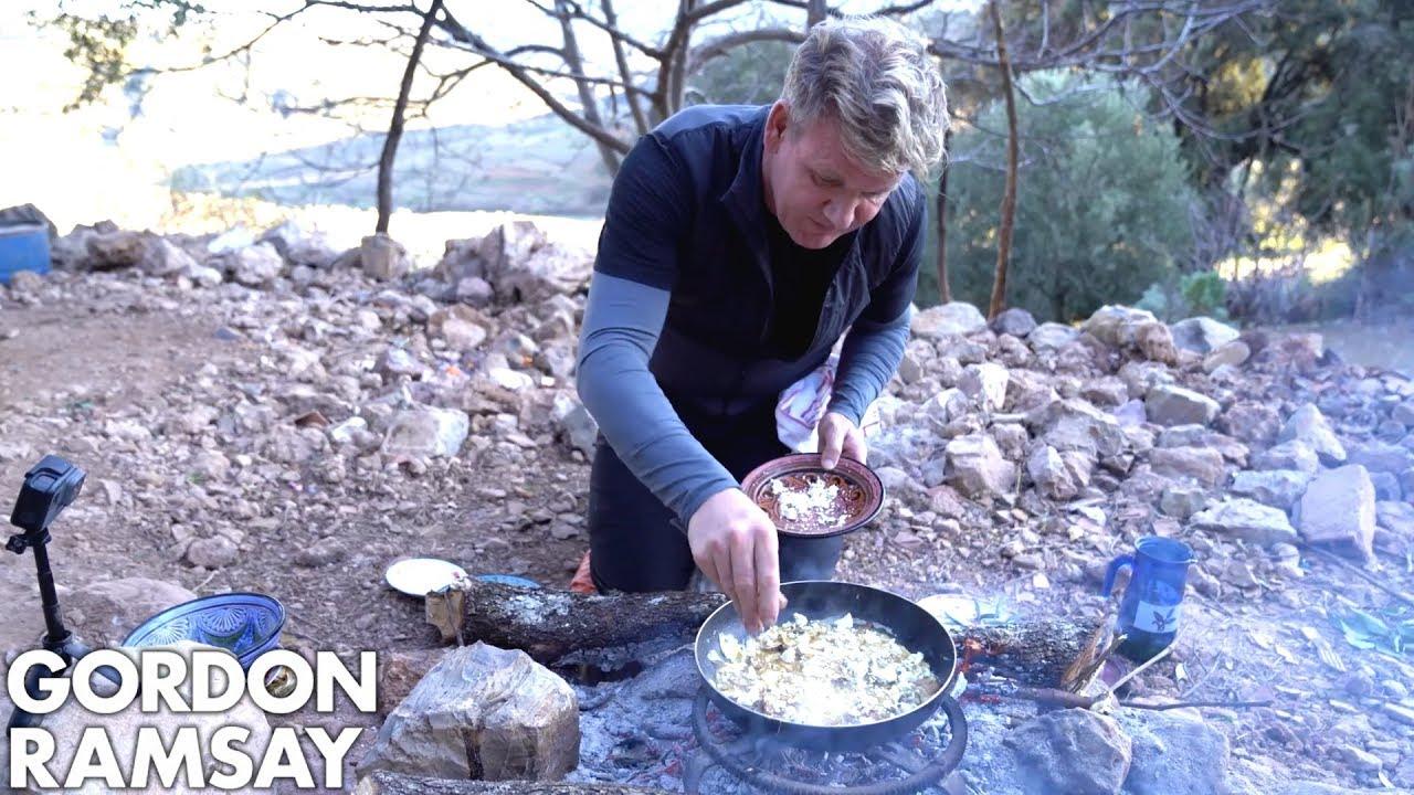 Download Gordon Ramsay Makes A Mushroom Omelette In Morocco | Scrambled