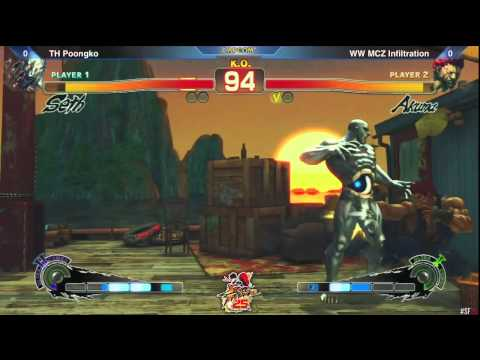 SSF4: TH Poongko vs WW MCZ Infiltration - Winners Finals - SF 25th Asia Qualifier