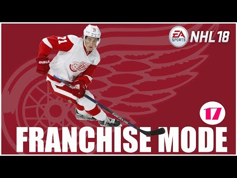 NHL 18 Franchise Mode | Detroit Red Wings - Osa 17 | Uuden kauden Drafti!