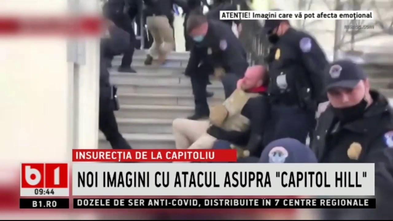 NOI IMAGINI CU ATACUL ASUPRA CAPITOL HILL_Stiri b1_19 ianuarie 2021