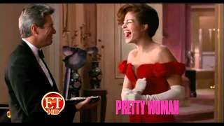 Julia Roberts ( Pretty Woman ) Trademark Snappy Moment Was Improvised .