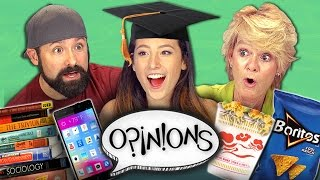 THE BEST COLLEGE EXPERIENCE (React: Opinions)