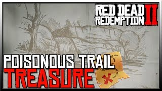 Red Dead Redemption 2 Treasure Map Poisonous Trail - Red Dead Redemption 2 Treasure Map