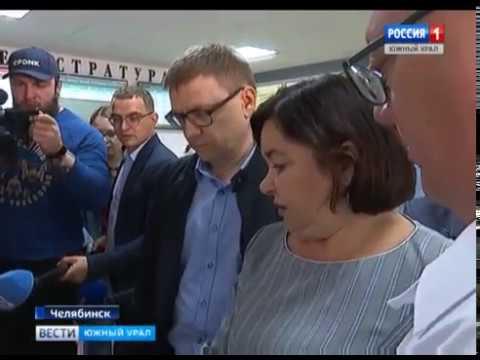 Алексей Текслер в Ленинском районе Челябинска