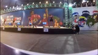 The world championship on kettlebell sport 2017. South Korea, Seoul. Long cycle 32+32 -63 lifts