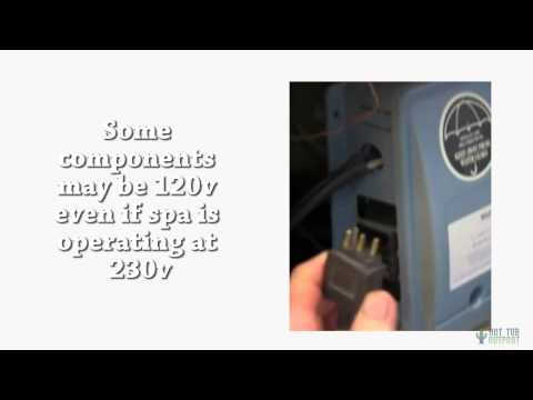 Hot Tub Electrical Installation Hookup GFCI  Wire Spa Wiring Plug Diagram on