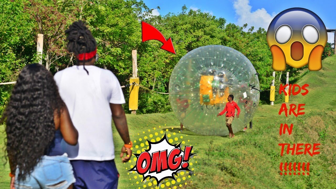 cant-believe-the-kids-did-this-they-went-zorbing-yaya-cried