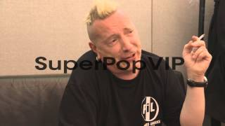 INTERVIEW - John Lydon on Glastonbury at Worthy Farm on J...