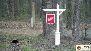 Decorative Sign Post