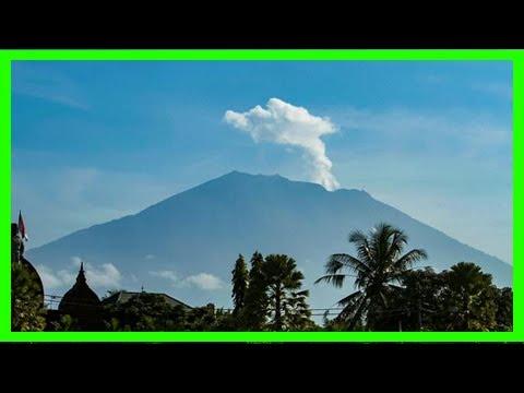 Breaking News | Authorities lower bali volcano alert status