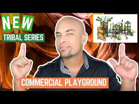 All New Tribal Series Commercial Playground Equipment