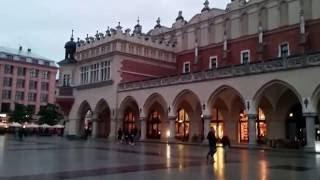 Что посмотреть в Кракове -  рыночная площадь в старом городе Krakow old town market square(, 2016-07-23T13:31:00.000Z)