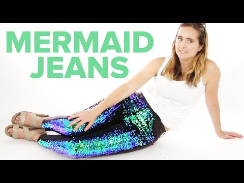 Thumbnail: I Wore Mermaid Jeans For A Day