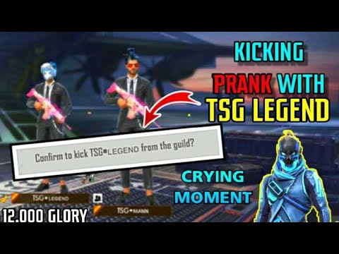 TSG MANN DID PRANK WITH TSG LEGEND || KICKED HIM FROM GUILD || CRYING MOMENT || TSG JASH REACTION