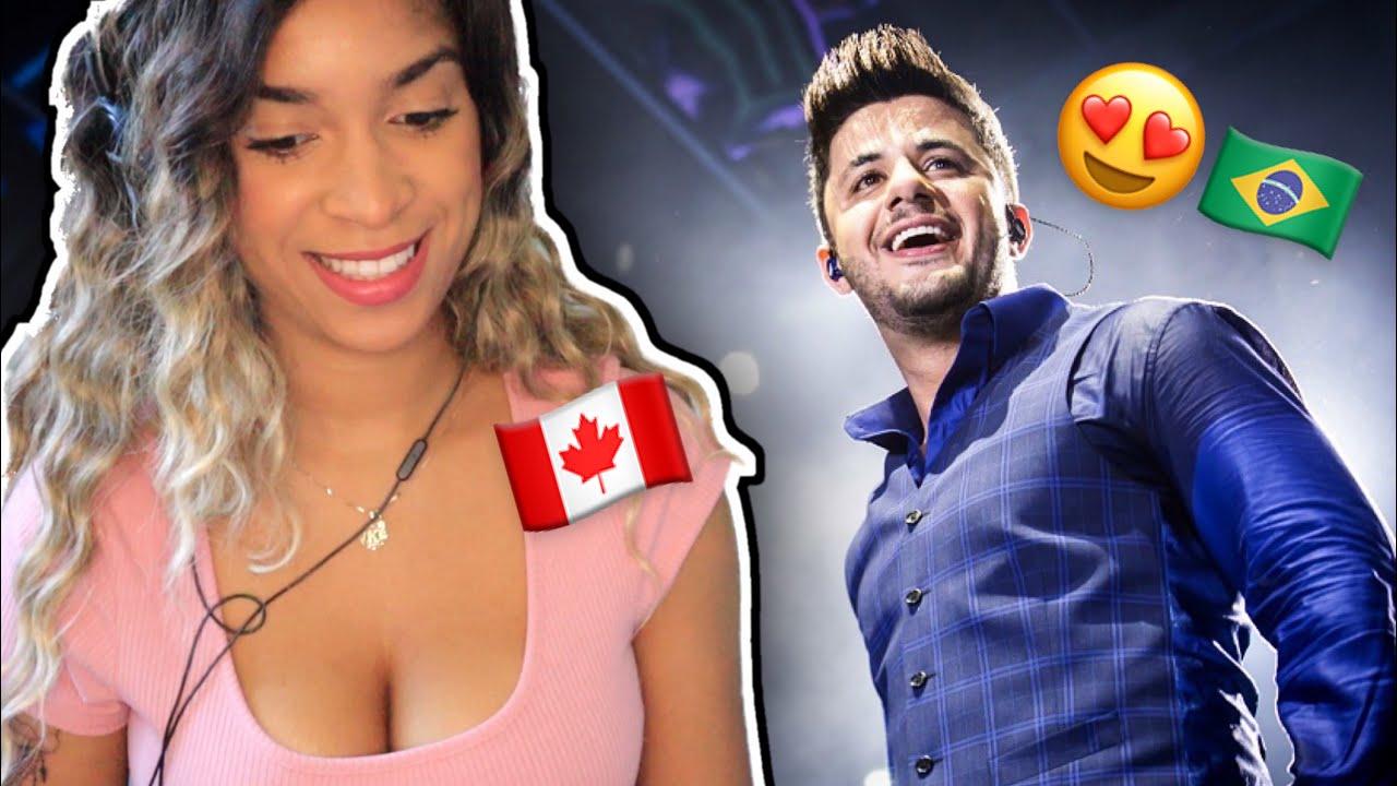 Canadense reage a Cristiano Araújo - É com ela que eu estou