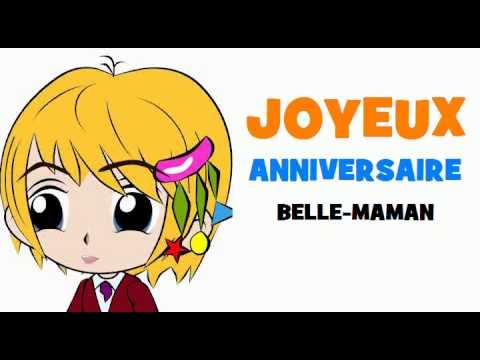 Joyeux Anniversaire Belle Maman Youtube