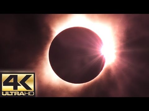 Solar Eclipse 2017 (Totality) 4K 60 FPS - August 21st 2017 (DIAMOND RING)