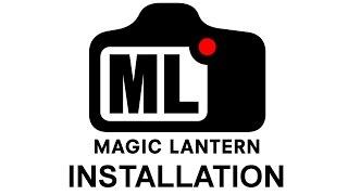 Magic Lantern Install 2015.