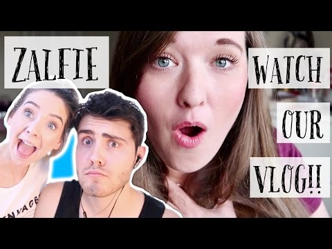 REACTING TO ZOELLA AND ALFIE DEYES WATCHING OUR VLOG!!