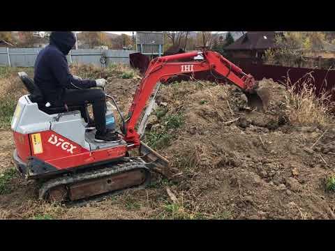 Тест сверхтяжелого карьерного экскаватора IHI IS7GX Test over heavy career excavator