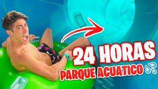 24 HORAS EN PARQUE ACUATICO !!