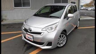 Toyota Ractis 2014 г. Обзор и анализ Аукционного листа