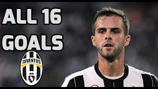 Pjanic ● All Goals For Juventus | 2016-2018