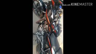 2017 pulsar 220f first view and exhaust sound and ride
