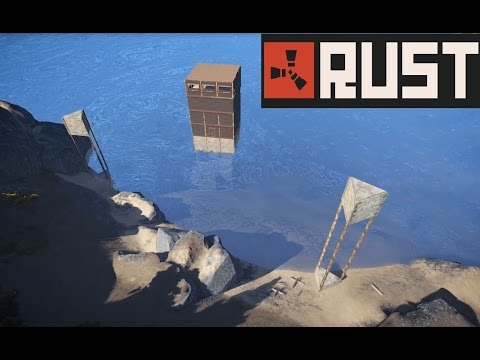 Rust: Water Base Build
