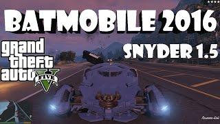 GTA 5 Batmobile 2016 -Snyder 1.5