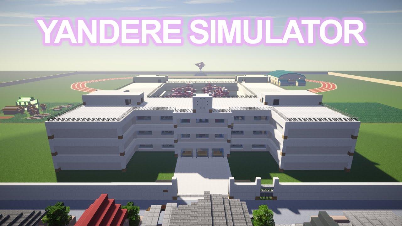 Yandere Simulator Minecraft Map
