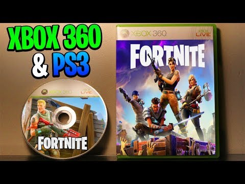 Fortnite Xbox 360 & PS3 - Should Fortnite Be On Xbox 360 & PS3? (Fortnite Xbox 360 & PS3 Gameplay)