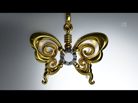 Blender 3D Jewelry Design Tutorial 021 Time-lapse thumbnail