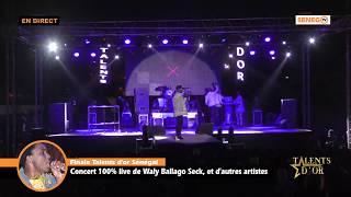 Direct Grand Théâtre : Finale des Talents d'or avec Wally seck