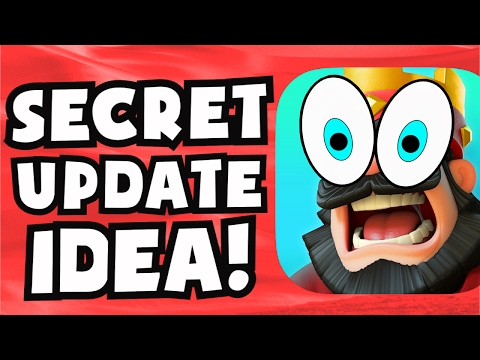 NEW Clash Royale SECRET UPDATE IDEA / EASTER EGG | PLAYER LEVEL 14 CONSPIRACY THEORY PREDICTION