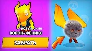 БАРСИК-ФЕНИКС САМЫЙ ОПАСНЫЙ СКИН BRAWL STARS! КОНЕЦ СЕЗОНА!