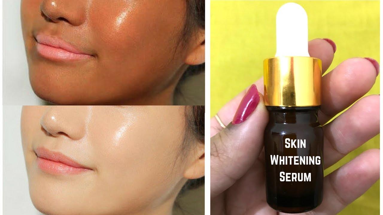 Get Fair Skin In Just 7 Days Homemade Whitening Serum 100 Lightening Effective
