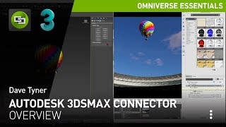 Overview of the Autodesk 3ds Max Connector in NVIDIA Omniverse