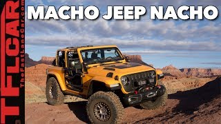 When A New Wrangler Jl Just Isn'T Enough Jeep: Meet Jeep Nacho!