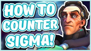 Overwatch - HOW TO COUNTER SIGMA (Best Heroes to Use!)